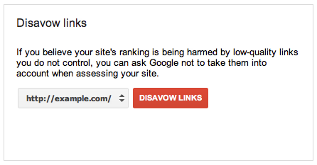 Received Unnatural Links Warning from Google? Do Not Worry, Just Disavow it!